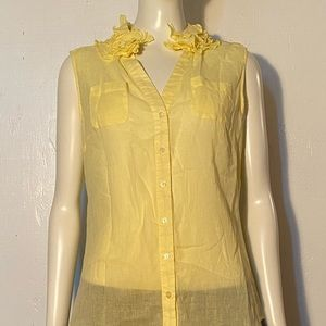Lapis Soft Yellow Blouse